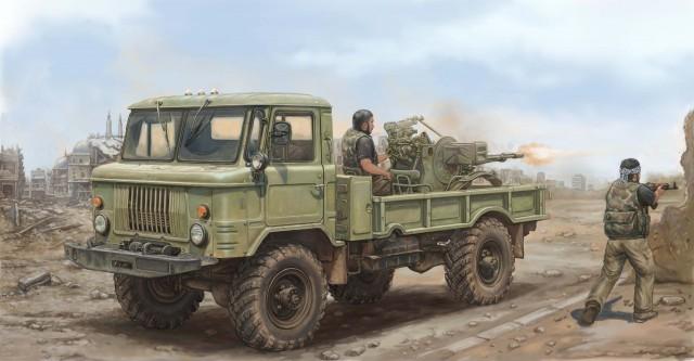 01017 1/35 GAZ-66 軍用トラック2型 ¥7,800(税抜価格)