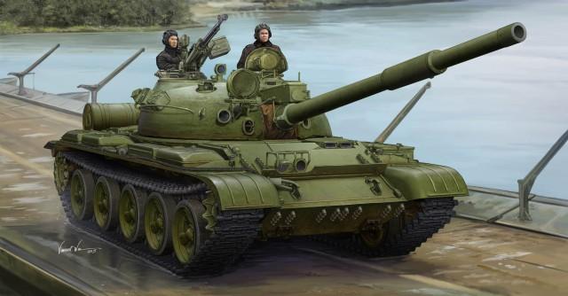 01552 1/35 ソビエト軍 T-62 主力戦車 Mod.1975/1972+KTD2 ¥5,800(税抜価格)