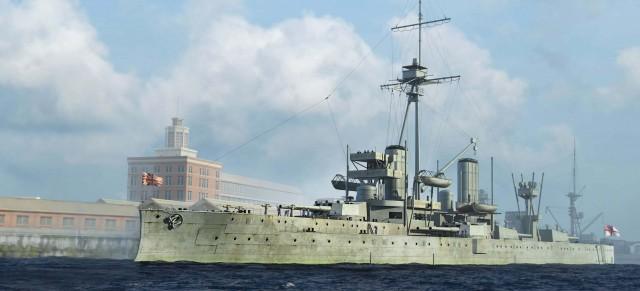 06706 1/700 イギリス海軍戦艦 HMS ドレッドノート 1918 ¥4,200(税抜価格)
