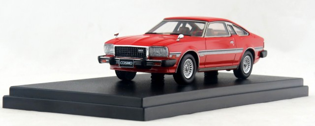 HS141RE 1/43 MAZDA COSMO COUPE LIMITED (1979) サンライズレッド  ¥8,200(税別)