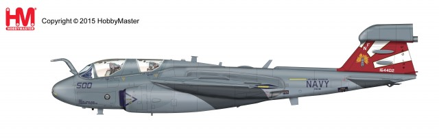 "HA5001 1/72 EA-6B プラウラー ""VAQ-136 ガントレッツ"" ¥18,000(税抜価格) HA5001 1/72 EA-6B Prowler 164402, VAQ-136 Gauntlets late 2011."