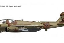 "HA5002 1/72 EA-6B プラウラー ""VAQ-133 ウィザーズ"" ¥18,000(税抜価格)"
