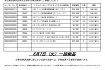 TRP MCT新製品納品日のお知らせ2016_0607