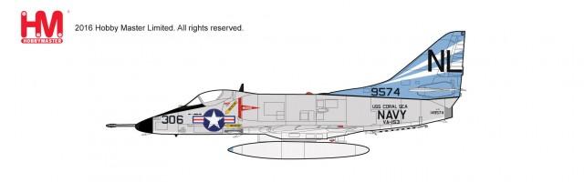 """HA1428 1/72 A-4C スカイホーク """"VA-153 ブルーテイルフライズ"""" ¥10,800(税抜価格)"""