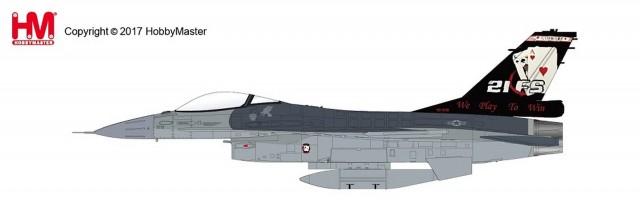 """HA3848 1/72 F-16A ブロック20 """"ギャンブラーズ・創隊20周年記念塗装"""" ¥12,800(税抜価格)"""