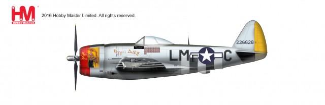"""HA8412 1/48 P-47D サンダーボルト """"ロージー・ゲス2"""" ¥12,800(税抜価格)"""