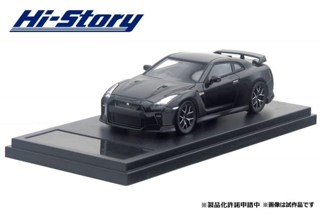 HS189BK 1/43 NISSAN GT-R Pure edition (2017)  メテオフレークブラックパール ¥8,800(税抜価格)