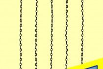 汎用ブラック中細チェーン(55cm)