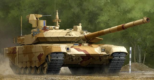 09524 1/35 ロシア連邦軍 T-90MS主力戦車(Mod2013) ¥8,800(税抜価格)
