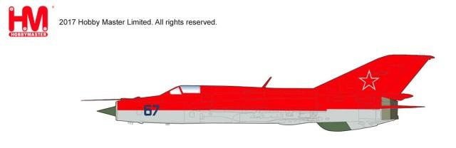 "HA0189 1/72 MiG-21PFM ""ソビエト空軍 アクロバットチーム"" ¥10,800(税抜価格)"