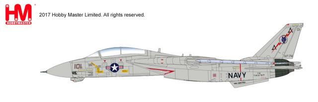 "HA5215 1/72 F-14A トムキャット 第74戦闘飛行隊 ""ビ・デビラーズ"" ¥19,800(税抜価格)"