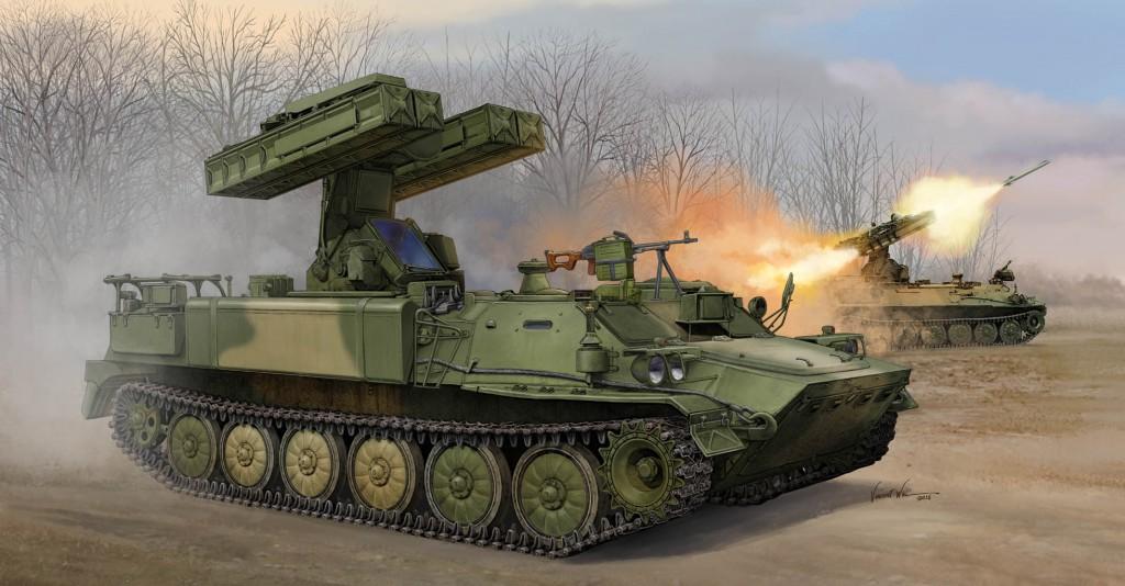 05554 1/35 ソビエト軍 SA-13 ゴファー ¥9,800(税抜価格)
