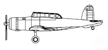 06276 1/350 ブラックバーン スクア艦上爆撃機 ¥1,200(税抜価格)