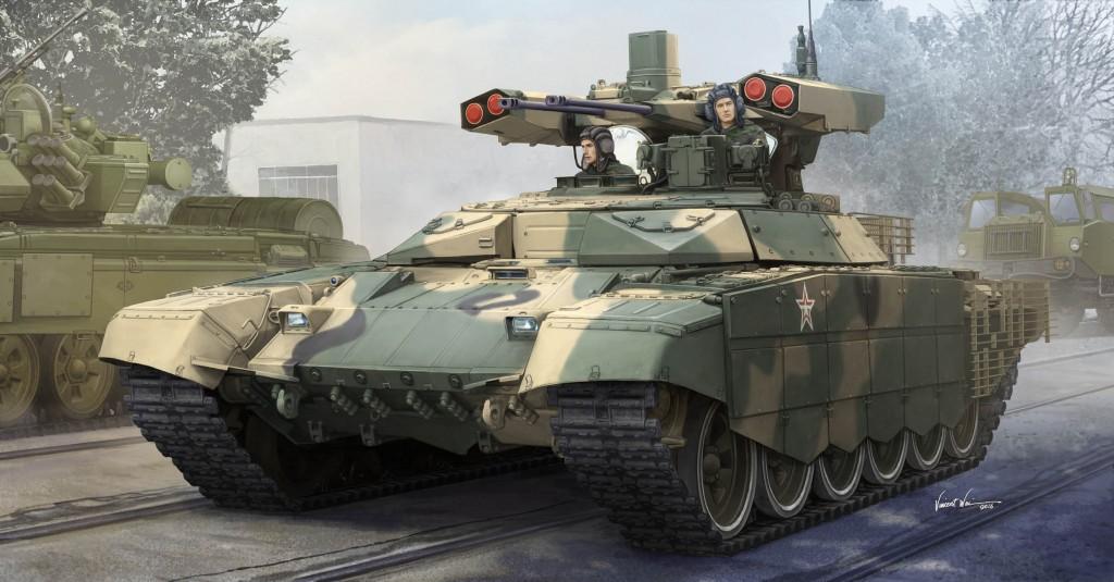 09515 1/35 ロシア連邦軍 BMPT-72 テルミナートル2 ¥8,800(税抜価格)