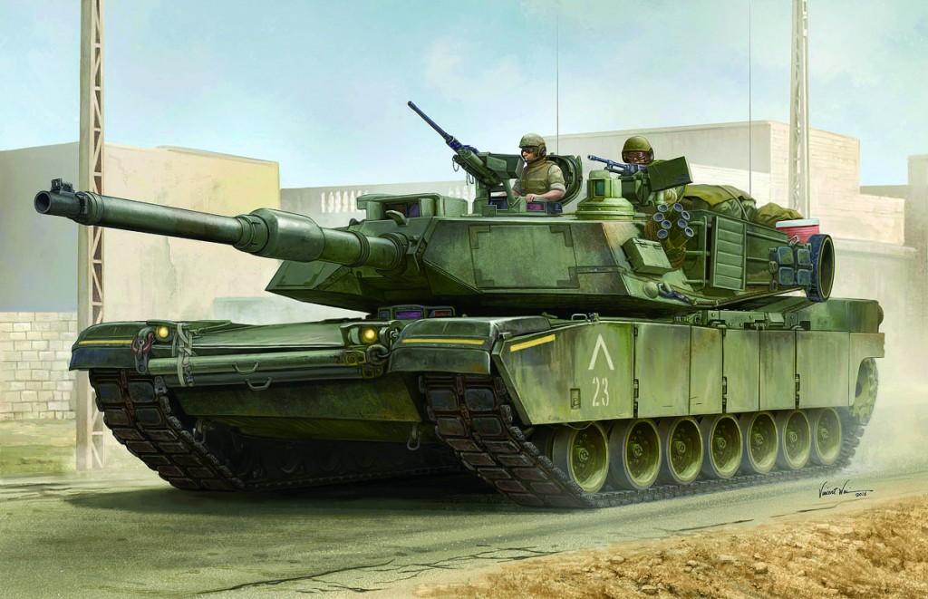 00926 1/16 M1A1 AIM エイブラムス近代改修型 ¥26,000(税抜価格)