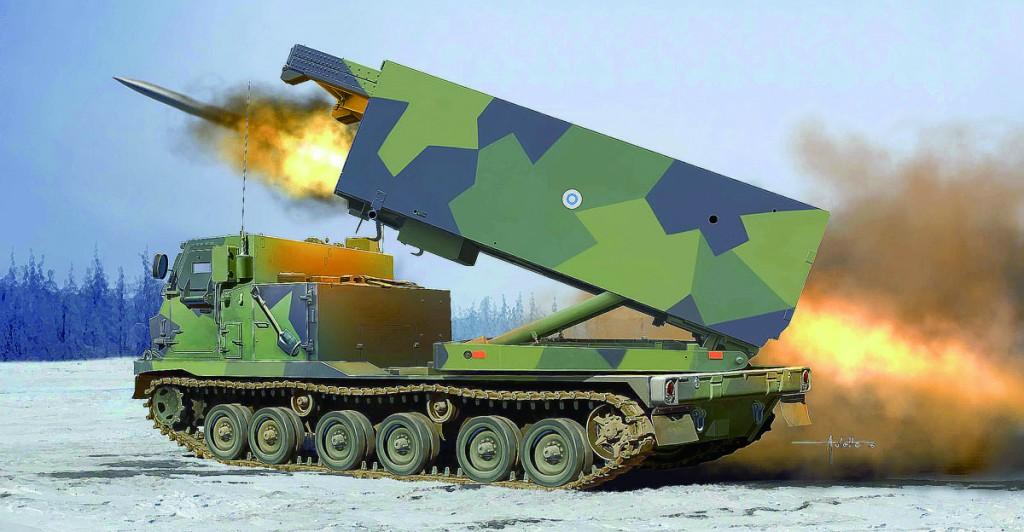 01048 1/35 フィンランド/オランダ陸軍 MLRS 多連装ロケットシステム ¥14,800(税抜価格)
