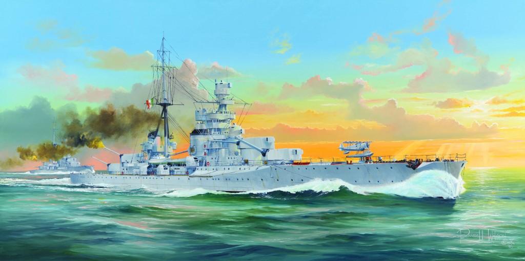 05347 1/350 イタリア海軍 重巡洋艦 ザラ ¥10,800(税抜価格)