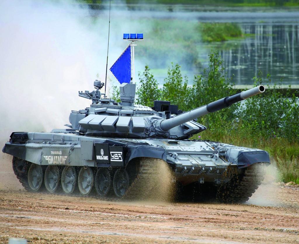 09510 1/35 ロシア連邦軍 T-72B3M主力戦車 ¥9,800(税抜価格)