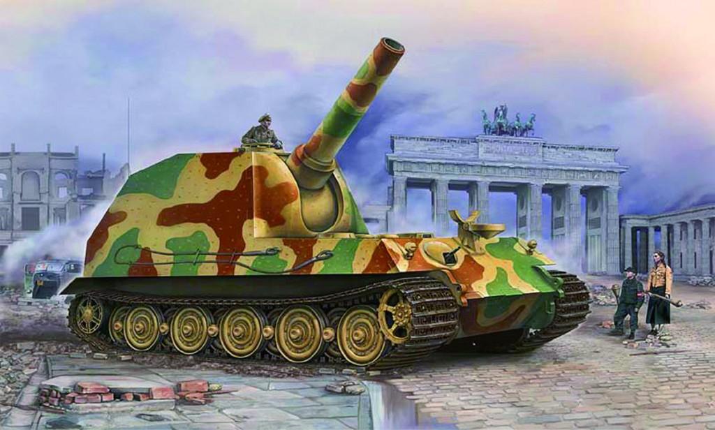 09535 1/35 ドイツ軍 30.5cm重自走榴弾砲 ベア ¥5,800(税抜価格)