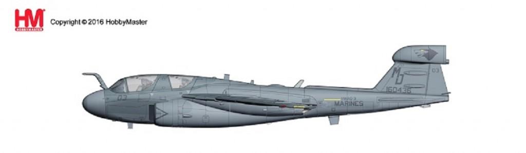 """HA5006 1/72 EA-6B プラウラー """"不朽の自由作戦"""" ¥14,800(税抜価格)"""