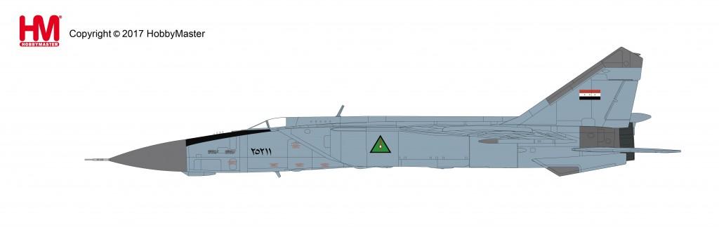 """HA5602 1/72 MiG-25PDS フォックスバット """"イラク空軍 1991"""" ¥15,800(税抜価格)"""