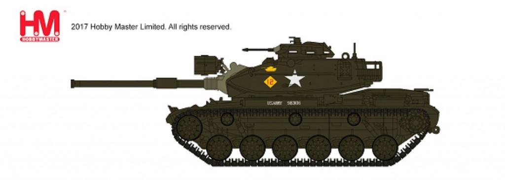 """HG5601 1/72 M60A1 パットン """"アメリカ第3機甲師団"""" ¥4,800(税抜価格)"""