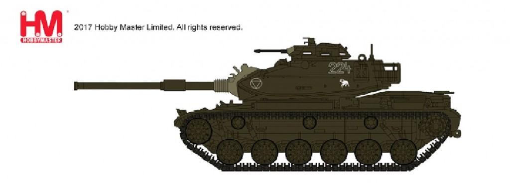 """HG5603 1/72 M60A1 パットン """"オーストリア連邦軍"""" ¥4,800(税抜価格)"""