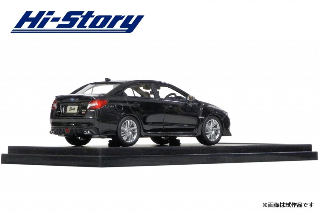 HS183BK 1/43 SUBARU WRX S4 2.0GT-S EyeSight (2014) クリスタルブラック・シリカ ¥9,200(税抜価格)