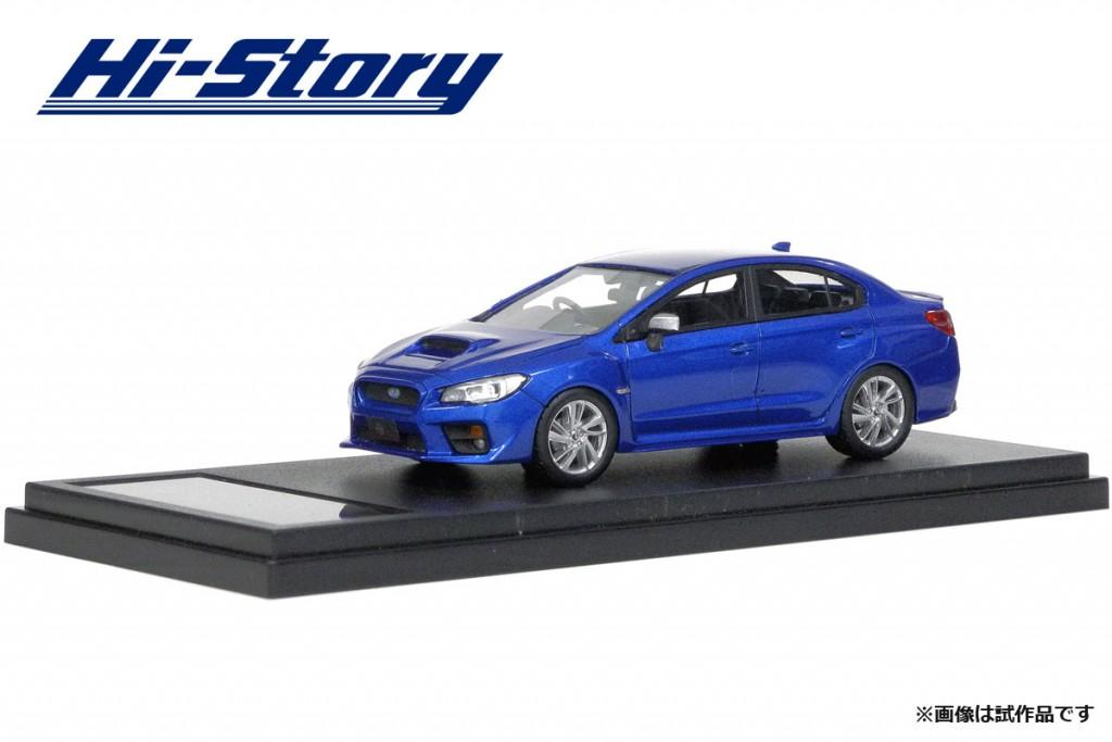 HS183BL 1/43 SUBARU WRX S4 2.0GT-S EyeSight (2014) WRブルー・パール ¥9,200(税抜価格)