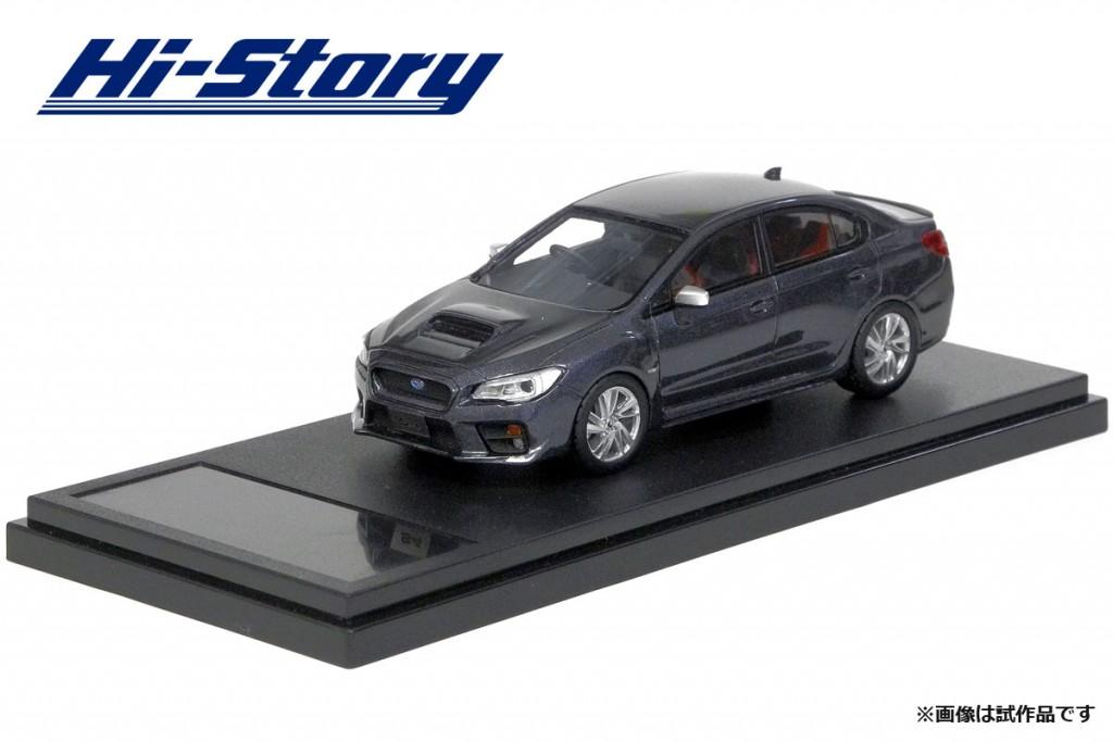 HS183GY 1/43 SUBARU WRX S4 2.0GT-S EyeSight (2014) ダークグレー・メタリック ¥9,200(税抜価格)