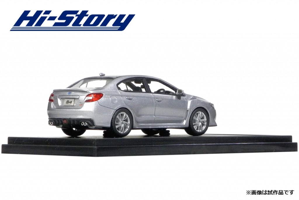 HS183SL 1/43 SUBARU WRX S4 2.0GT-S EyeSight (2014) アイスシルバー・メタリック ¥9,200(税抜価格)