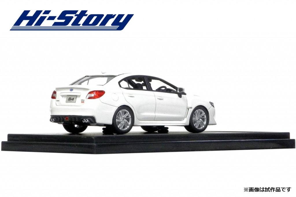 HS183WH 1/43 SUBARU WRX S4 2.0GT-S EyeSight (2014) クリスタルホワイト・パール ¥9,200(税抜価格)