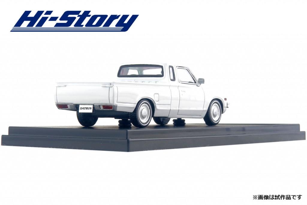 HS188WH 1/43 NISSAN DATSUN TRUCK CUSTOM DX・L ローダウン (1979) ホワイト ¥9,800(税抜価格)