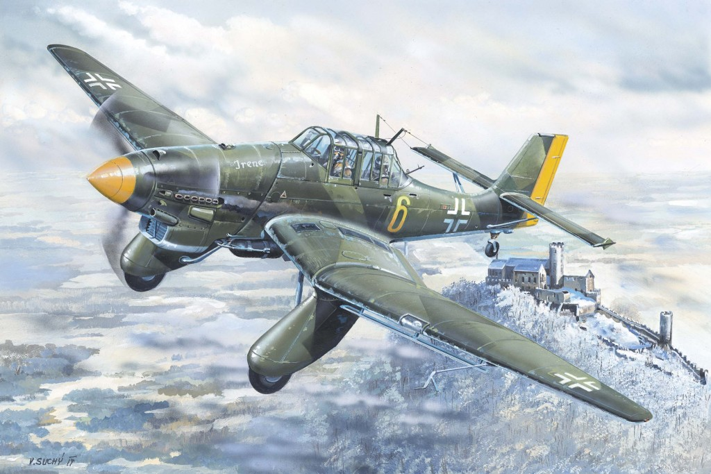 02420 1/24 ユンカース Ju-87A シュトゥーカ ¥16,800(税抜価格)