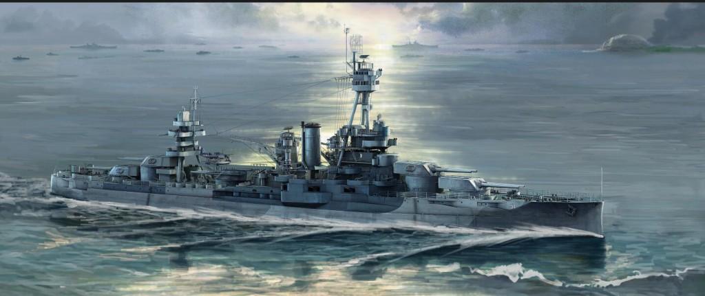06711 1/700 アメリカ海軍戦艦 BB-34 ニューヨーク ¥5,800(税抜価格)