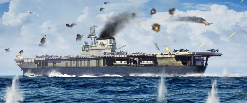 06707 1/700 アメリカ海軍 航空母艦 CV-5 ヨークタウン ¥5,800(税抜価格)