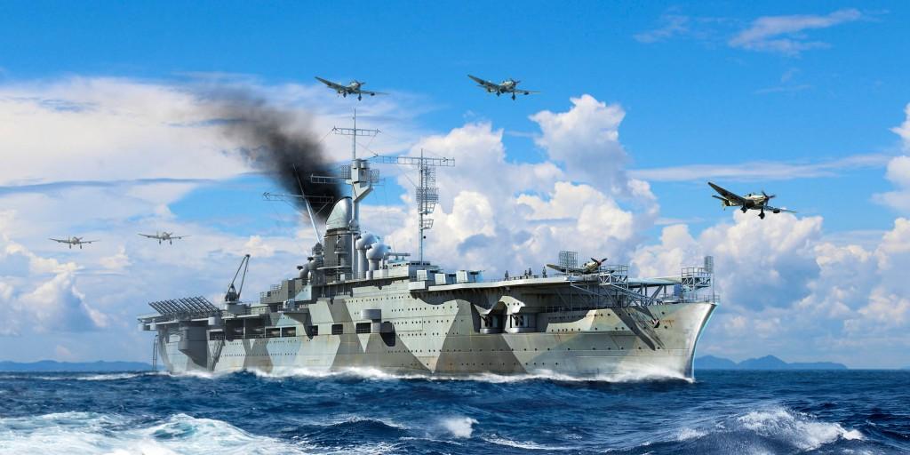 06709 1/700 ドイツ海軍 航空母艦 グラーフ・ツェッペリン ¥6,800(税抜価格)