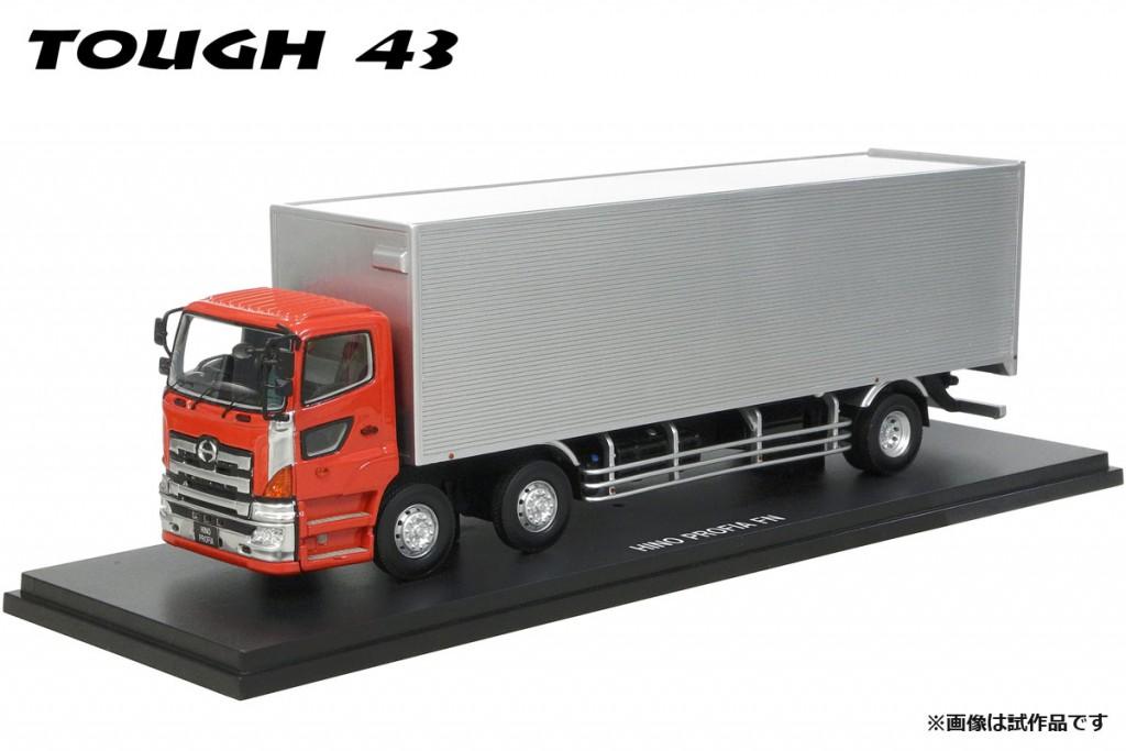 CT4303RE 1/43 HINO PROFIA FN 【2010】メタリックレッド(メッキグリル/メッキコーナーパネル装備)¥35,000(税抜価格)