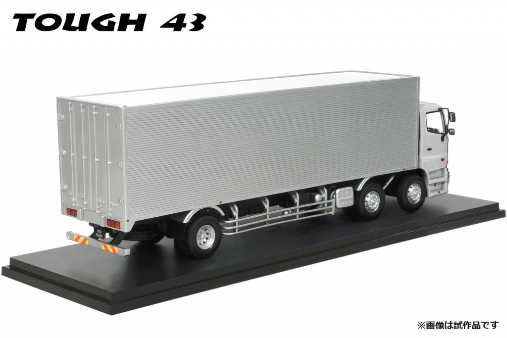CT4303SL 1/43 HINO PROFIA FN 【2010】メタリックシルバー※メッキグリル/メッキコーナーパネル装備¥35,000(税抜価格)