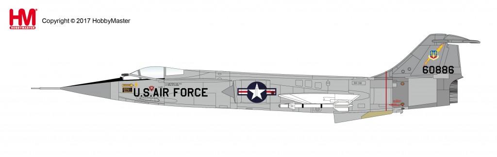 """HA1038 1/72 F-104C スターファイター """"ダナン空軍基地"""" ¥9,800(税抜価格)"""