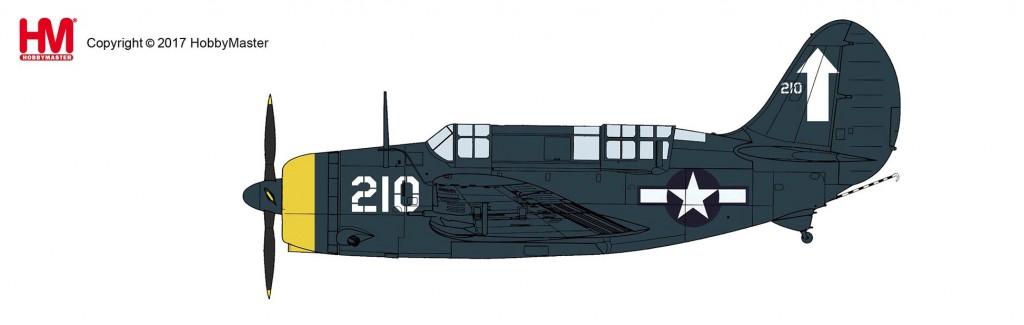 """HA2212 1/72 SB2C-4E ヘルダイバー """"USS バンカーヒル"""" ¥9,800(税抜価格)"""