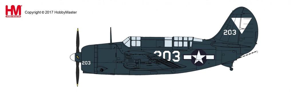 """HA2213 1/72 SB2C-4E ヘルダイバー """"USS タイコンデロガ"""" ¥9,800(税抜価格)"""