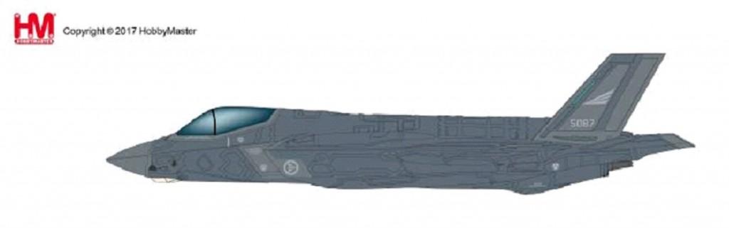 """HA4414 1/72 F-35A ライトニングⅡ """"ノルウェー空軍"""" ¥12,800(税抜価格)"""