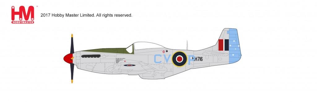 "HA7737 1/48 P-51K マスタング ""オーストラリア空軍"" ¥10,800(税抜価格)"