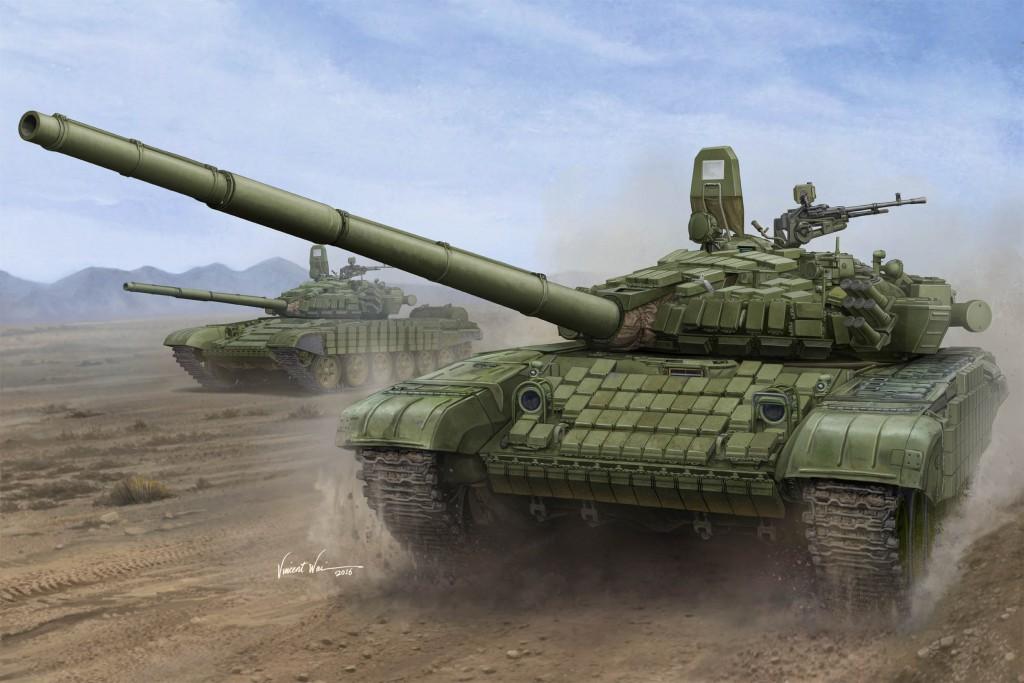 00925 1/16 ソビエト軍 T-72B/B1 主力戦車 ¥26,000(税抜価格)