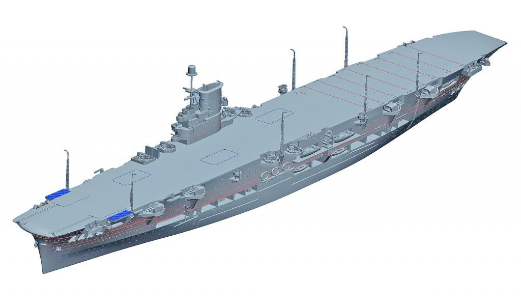 06713 1/700 イギリス海軍 航空母艦 アーク・ロイヤル 1939 ¥5,800(税抜価格)
