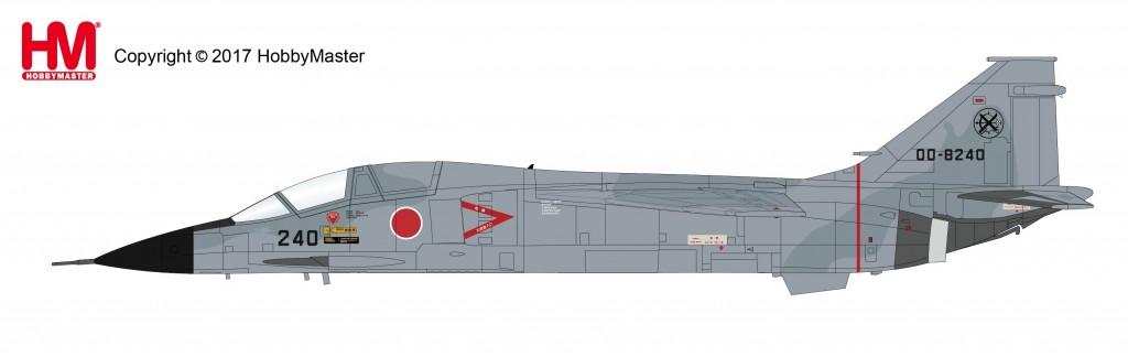 "HA3407 1/72 航空自衛隊F-1支援戦闘機 ""第8航空団 戦競 2000年塗装"" ¥9,800(税抜価格)"