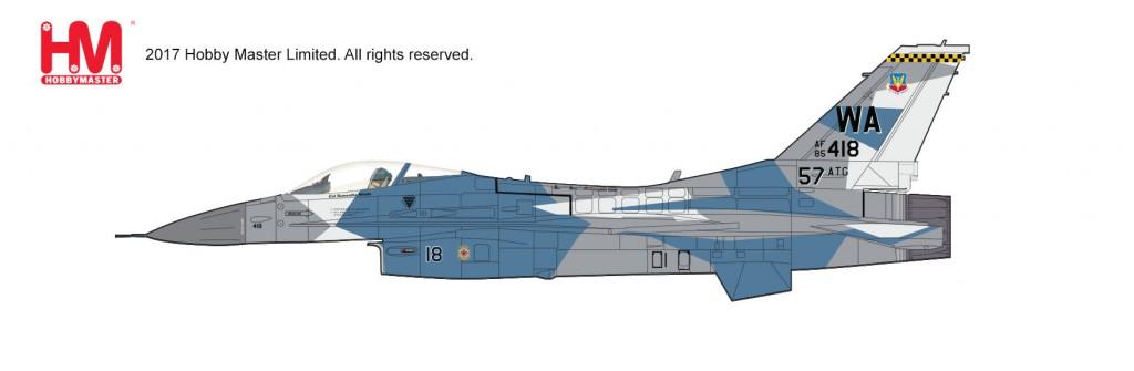 "HA3854 1/72 F-16C ブロック25 ""スプリンタースキーム"" ¥10,800(税抜価格)"