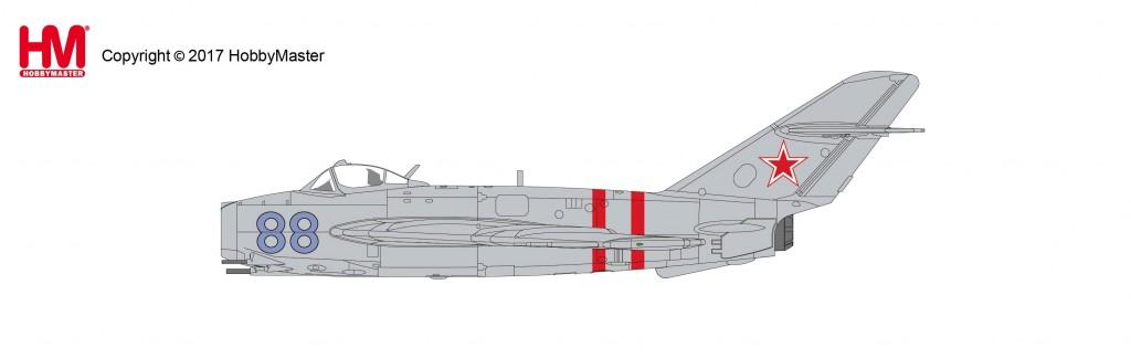 "HA5903 1/72 MiG-17F ""ソビエト空軍 1968"" ¥10,800(税抜価格)"