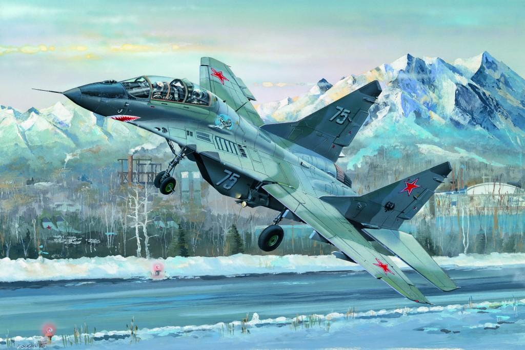 03226 1/32 MiG-29UB ファルクラムB型 ¥17,800(税抜価格)
